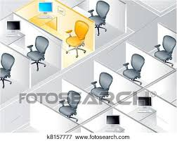 office cubicle clipart. Fine Clipart Office Cubicle Rows With The Special One To Cubicle Clipart E