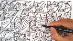 Easy Zentangle Patterns Gorgeous Easy Zentangle Patterns To Print Paper Worksheets Calendar