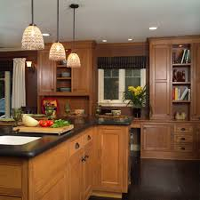 Light Wood Cabinets Kitchen Adorable Kitchen Ideas Kitchens Light Wood Cabinets Black High