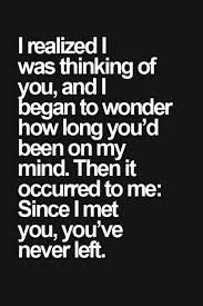 Thinking Quotes Stunning Love Quotes Images I Realized I Was Thinking Of You Life Quotes