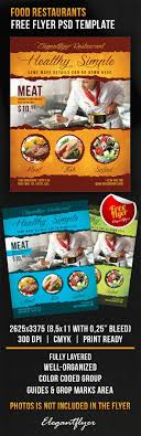 food restaurants flyer psd template by elegantflyer food restaurants flyer psd template