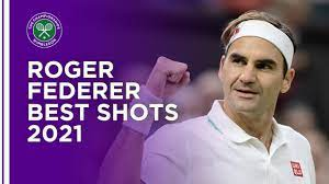 Roger Federer Best Shots Wimbledon 2021 ...