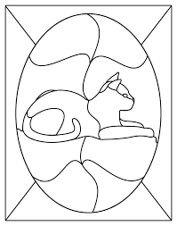 free patterns for stained glass simple flower designs birds loon