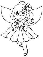 I hope that you've taken the time to download some of my coloring pages. Fairies Coloring Pages