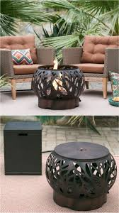 propane fire pit coffee table