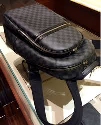 louis vuitton backpack. the sleek and minimalist design exclusively using zippered compartments no flaps front straps immediately stands out. you\u0027ll note also that it has a louis vuitton backpack