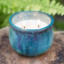Golden Lipper Lighting Citronella Candle In Ceramic Pot Terrain Citronella