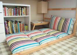 Plain Floor Cushions Diy Pillows T Inside Design Ideas