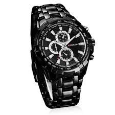 black trendy curren round dial stainless steel quartz wrist men s trendy curren round dial stainless steel quartz wrist men s watch black