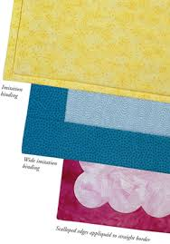 SO many ways!: finishing binding on quilts - Stitch This! The ... & sewing binding on quilts Adamdwight.com