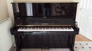 yamaha u3 piano. piano image 1 of black gloss cased yamaha u3 upright for sale in nantwich t