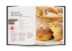 cook book page layout