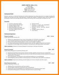 18 Accountants Cv Sample World Wide Herald