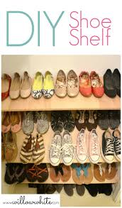How To Make A Shoe Rack Diy Shoe Shelf