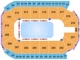 Santa Ana Star Center Seating Chart Rio Rancho Disney On Ice Worlds Of Enchantment Tickets Section 209