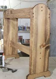 Free Quilt Rack Plans - How To Build Blanket Racks   Share Your ... & Early American stain. free standing Quilt rack wood ready to assemble Adamdwight.com