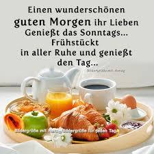 Schoenen Sonntag Guten Morgen Guten Tag Schöner Morgen