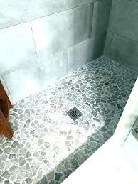 mosaic shower floor tile. Shower: Shower Mosaic Tile Walk In Large Modern Master Blue And For Floor Review Sh L