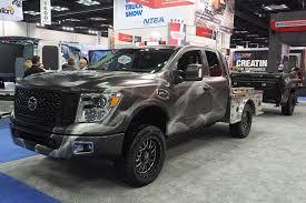 Nissan's Cool Smokin' Titan Heats Up Work Truck Show | Trucks.com