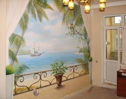 Small Picture Wall mural painting interior design Tips 7 House Design Ideas