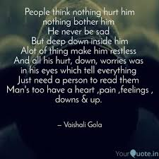 People Think Nothing Hurt Quotes Writings By Vaishali Gola
