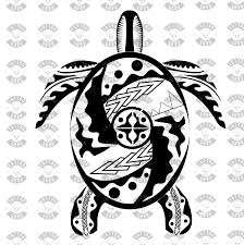 Tatuaggio Maori Tartaruga