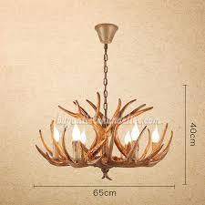 best six deer antler chandelier antique cast cascade candelabra 6 lights rustic lighting fixtures