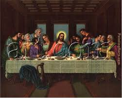 picture of the last supper painting leonardo da vinci picture of the last supper art
