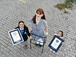 Rumeysa Gelgi: Turkish woman who is more than 7 foot named world's tallest,  Guinness World Records announces
