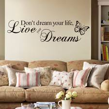 Wall Writing Decor Bedroom Wall Art Quotes Free Image