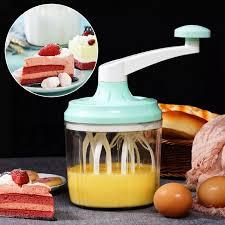 Hướng Dẫn Sử Dụng Máy Đánh Trứng Cho Máy Trộn Cầm Tay-Cây Đánh Trứng Tay  Quay Bếp Gia Đình Máy Trộn Cây Đánh Trứng Quay Tay-Màu Xanh Lá Cây