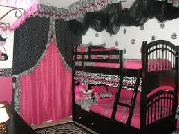 Perfect Girls Zebra Room   The Girls Asked For A Pink Zebra Room...  