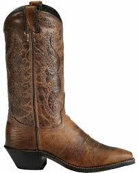 abilene women s hand tooled inlay cowgirl boot snip toe 9141