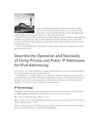Designing And Implementing A Subnetted Ipv4 Addressing Scheme Answers Lab Cisco Para Iniciantes Docsity
