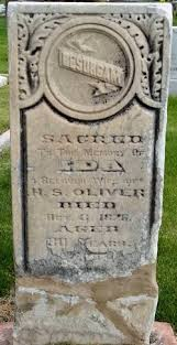 Ida Oliver (Unknown-1876) - Find A Grave Memorial