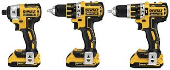 dewalt impact driver vs drill. dewalt 20v max xr brushless drill driver family impact vs