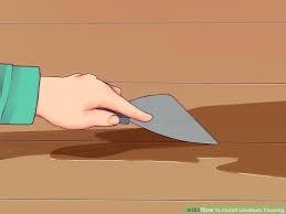 image titled install linoleum flooring step 5