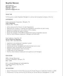 Examples Of Objectives In Resume Objective In Resume Samples General