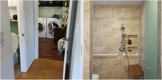 Handicap Bathroom Remodel Disability Remodeling Services Old Dominion Innovations Inc