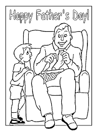 fathers day 2010 coloring pages