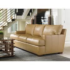 Tommy Bahama Living Room Furniture Tommy Bahama Home Island Fusion Leather Sofa Reviews Wayfair