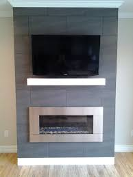 contempory mantel with stainless steel fireplace insert contemporary