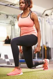 Image result for woman doing lunges