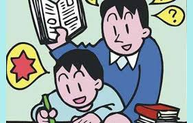 Image result for homework parent and child clipart animated