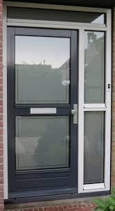 frosted widow front door