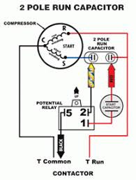 run capacitor wiring diagram run wiring diagrams online wiring diagram for hvac capacitor wiring image