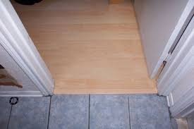 a laminate to tile floor transition