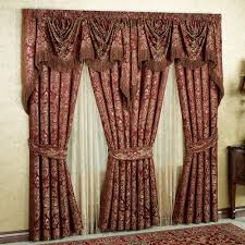 Maroon Curtains For Living Room Curtains And Drapes Touch Of Class