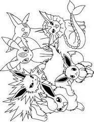 Afbeeldingsresultaat Voor Pokemon Kleurplaten Alle Evee Pokemon