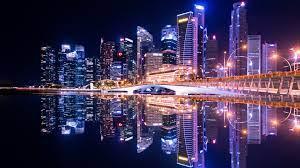 Wallpaper 4k Singapore City Skyline 4k ...